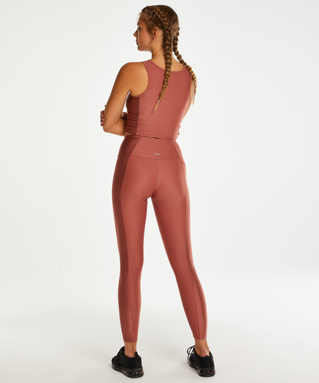 HKMX Cropped Tank Top, Rosa