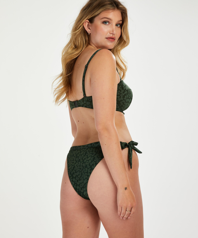 Brazilian Bikini-Slip Tonal Leo, grün, main
