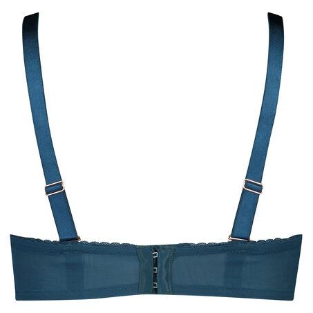 Vorgeformter Strapless-Bügel-BH Latrice, Blau