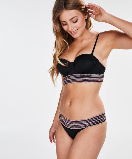 Cheeky-Bikinislip Paradise, Schwarz