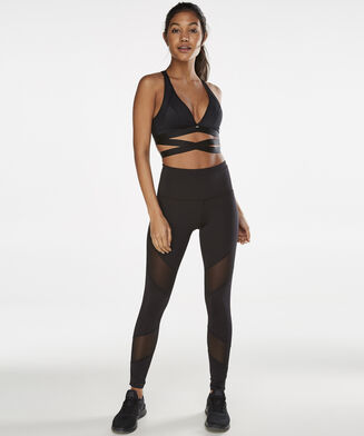HKMX-Sportleggings Mesh Zenn, Blau