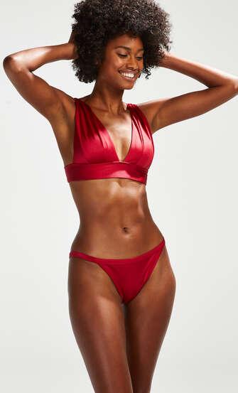 Tanga Bikini-Slip Lola, Rot