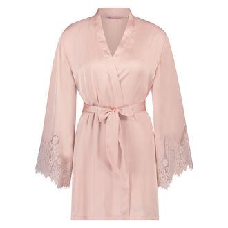 Kimono Lace Satin, Rose