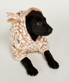 Hunde-Onesie Fleece, Braun