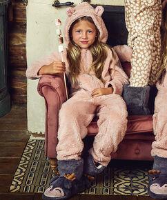 Kinderhausschuhe Hert , Grau