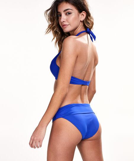 Vorgeformtes Push-up-Bikinitop Sunset Dream, Blau