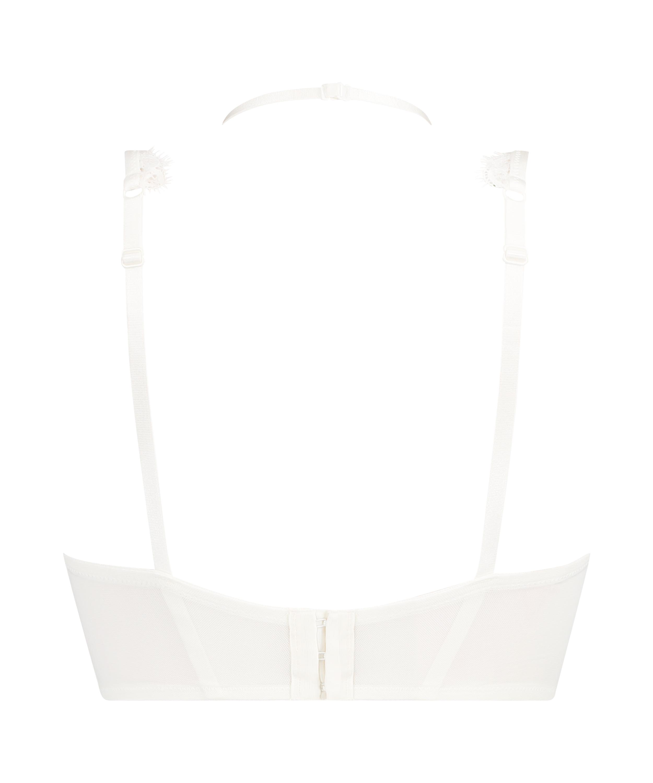 Unwattierter Bügel-BH Marilee, Weiß, main