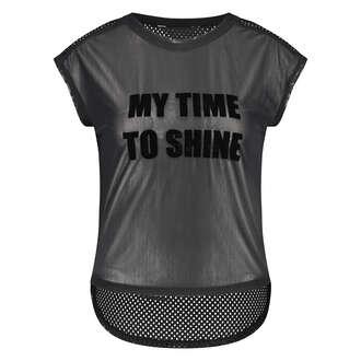HKMX Sporttop Time to Shine, Schwarz
