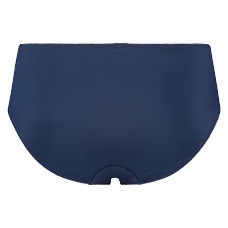 Hochgeschnittener Slip Diva, Blau