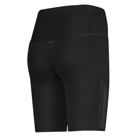 HKMX High Waisted Bike Shorts Level 3, Schwarz