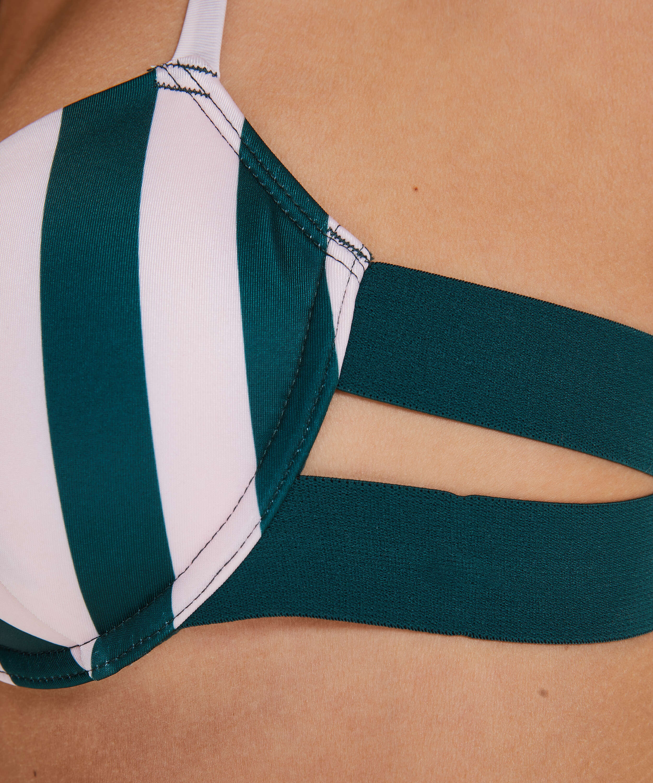 Vorgeformtes Bügel-Bikinitop Santa Rosa, grün, main