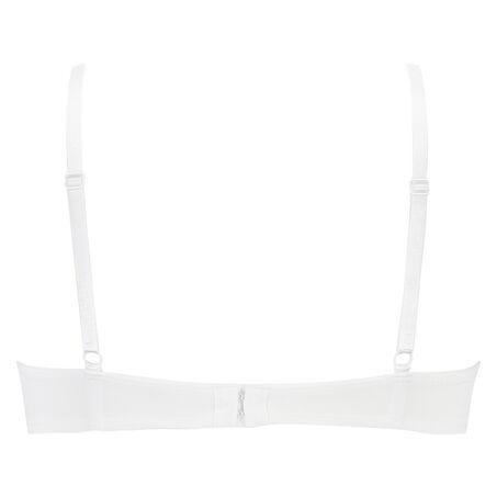 Vorgeformter Bügel-BH Plunge, Weiß