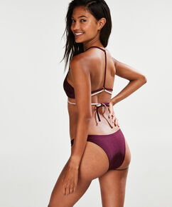 High-leg Cheeky-Bikinislip Times Two, Rose