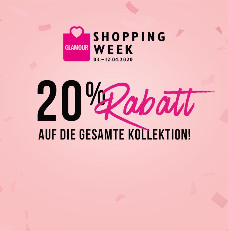 Glamour Shopping Week 2020 Erhalte 20 Rabatt