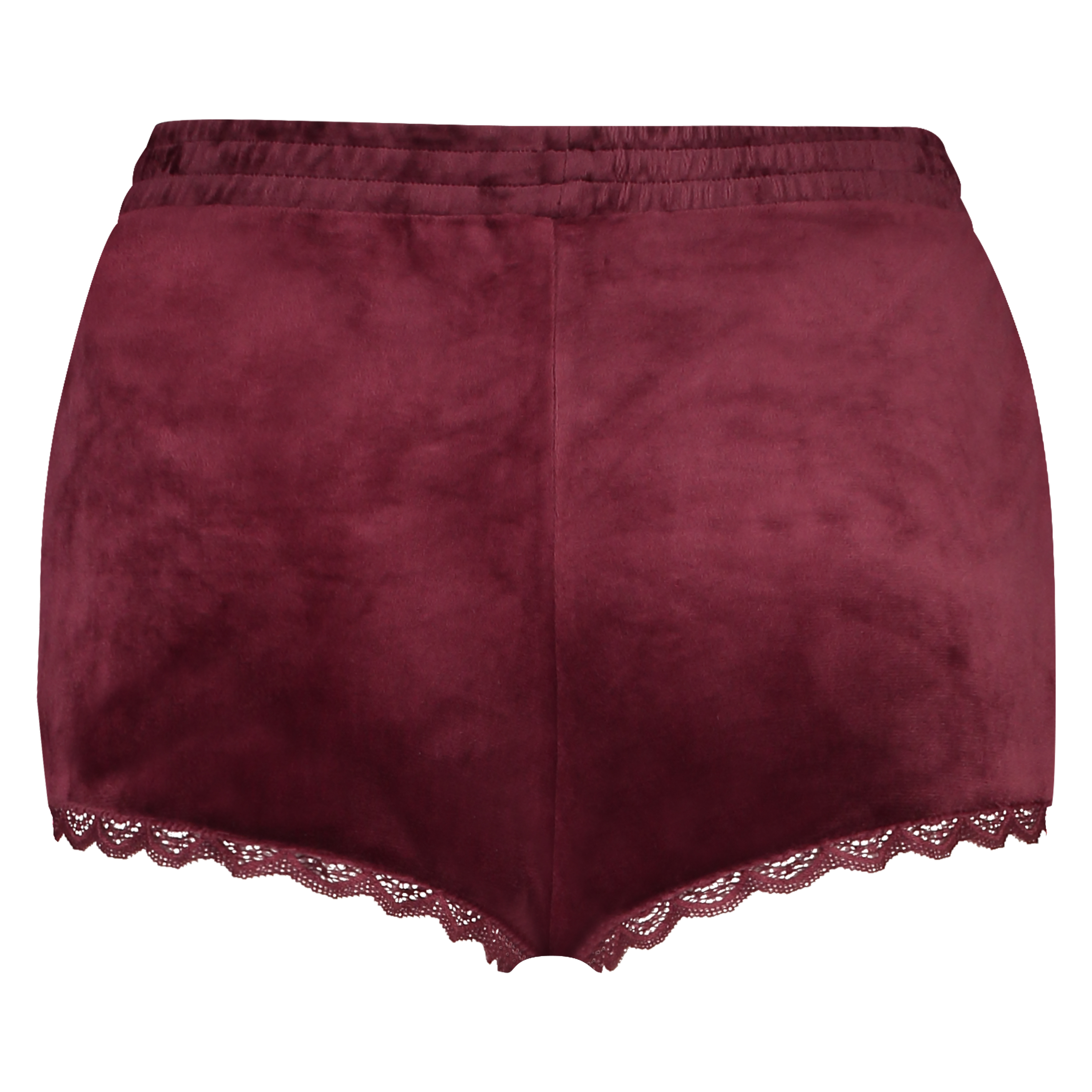 Shorts Velours Lace, Rot, main