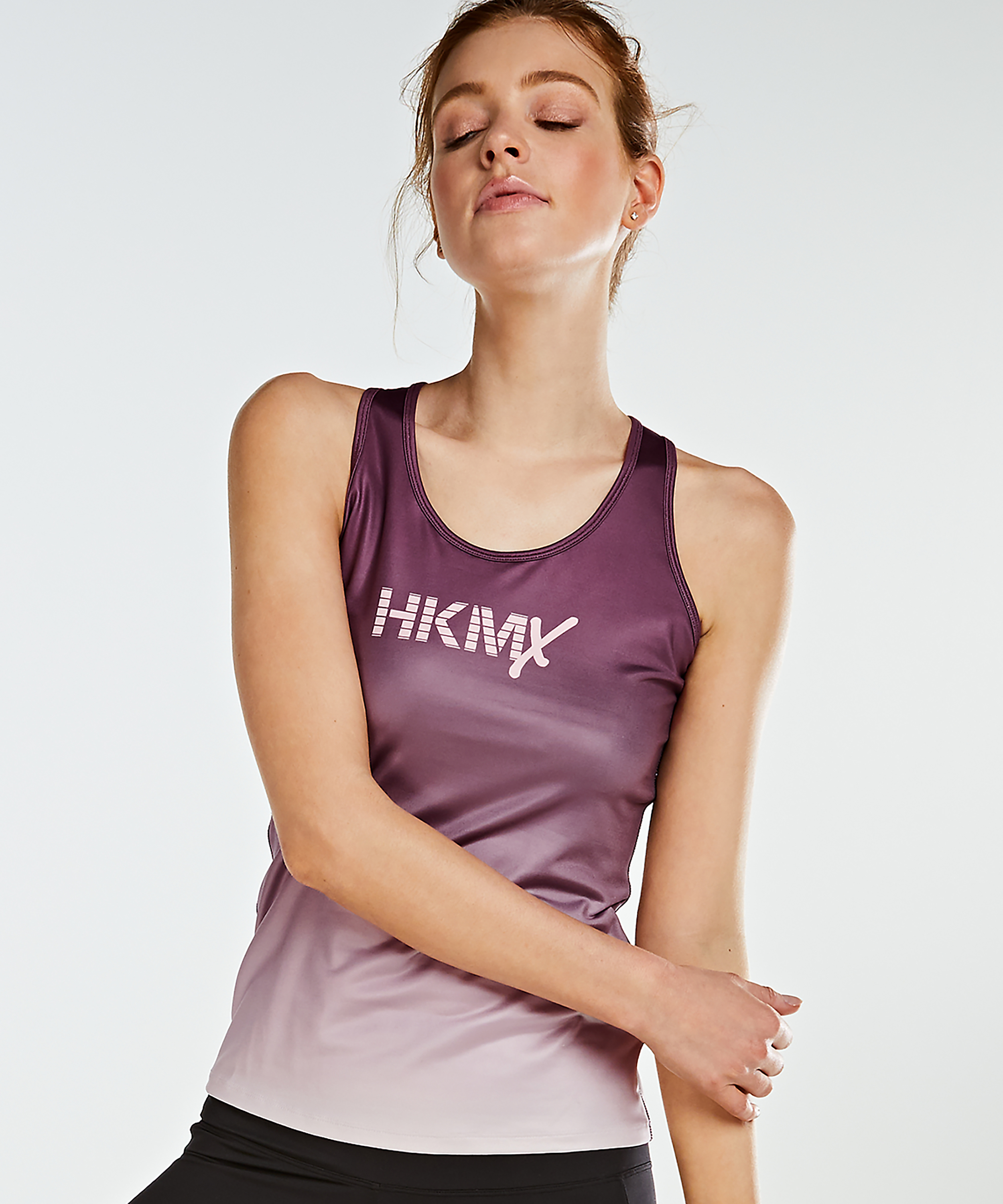 HKMX Tanktop Tight Fit, Lila, main