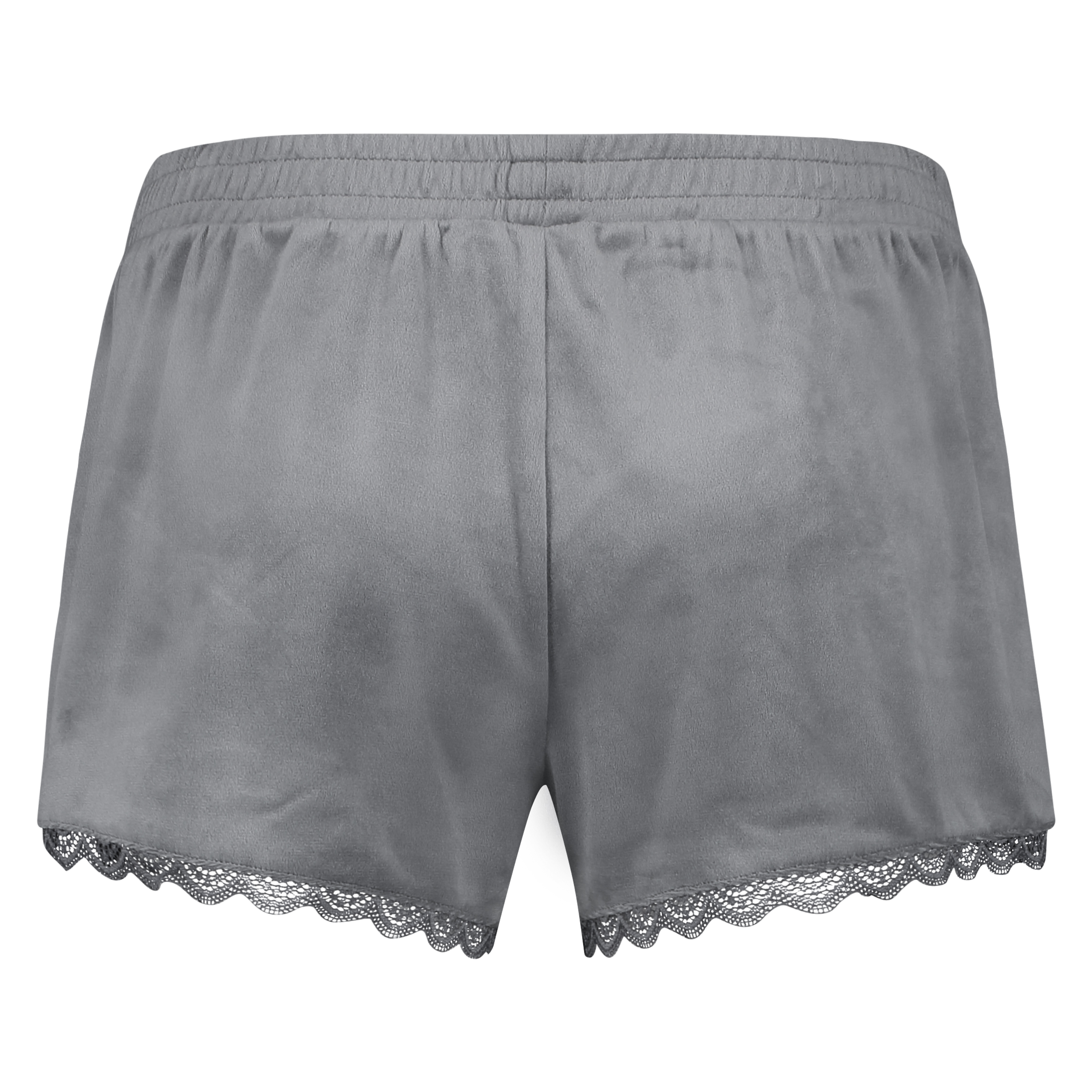 Shorts Velours Lace, Grau, main