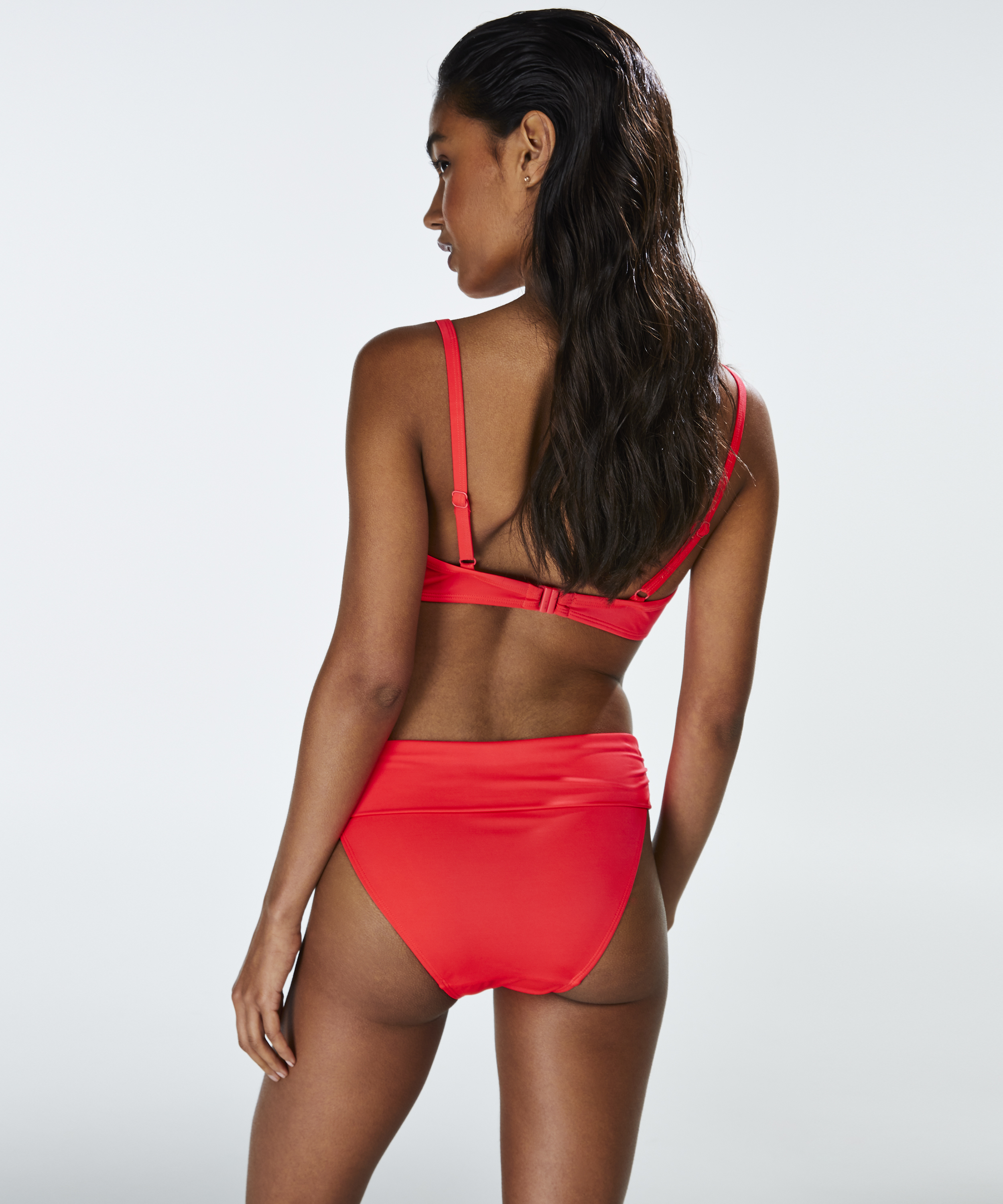 Foldover Bikinislip Sunset Dream, Rot, main