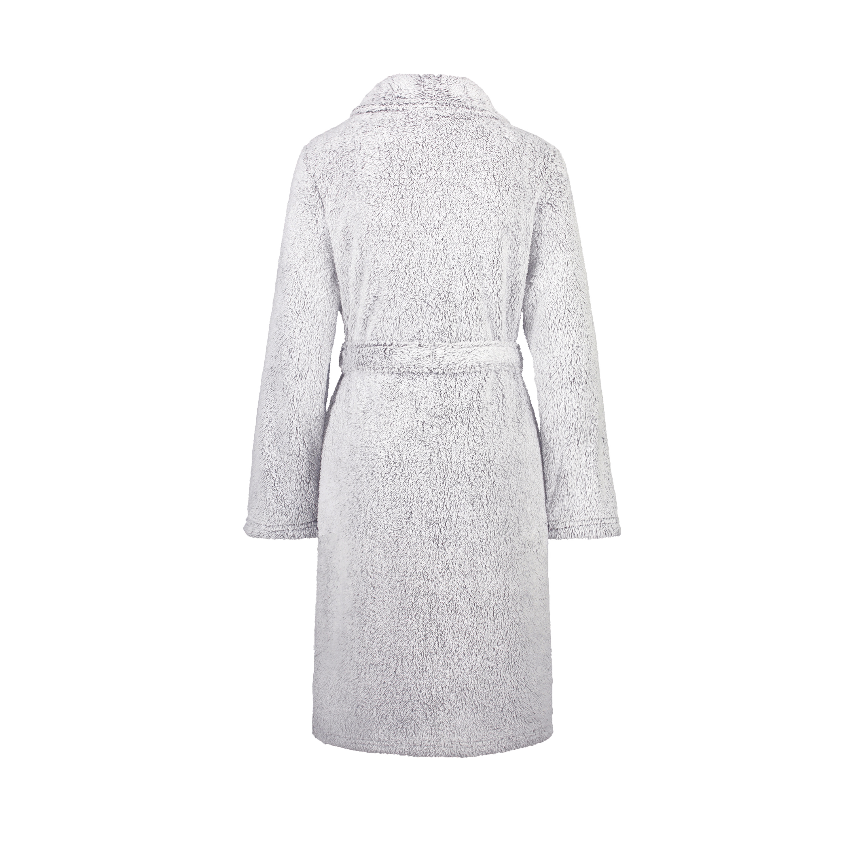 Bademantel Fleece, Grau, main