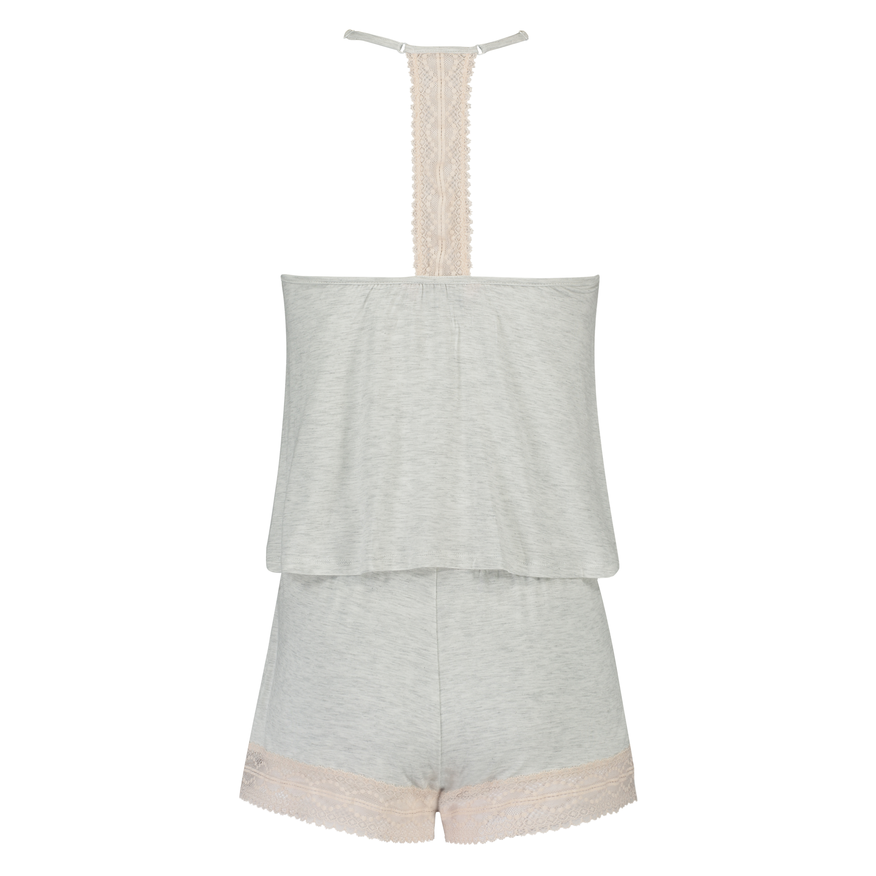 Pyjamaset Short, Grau, main
