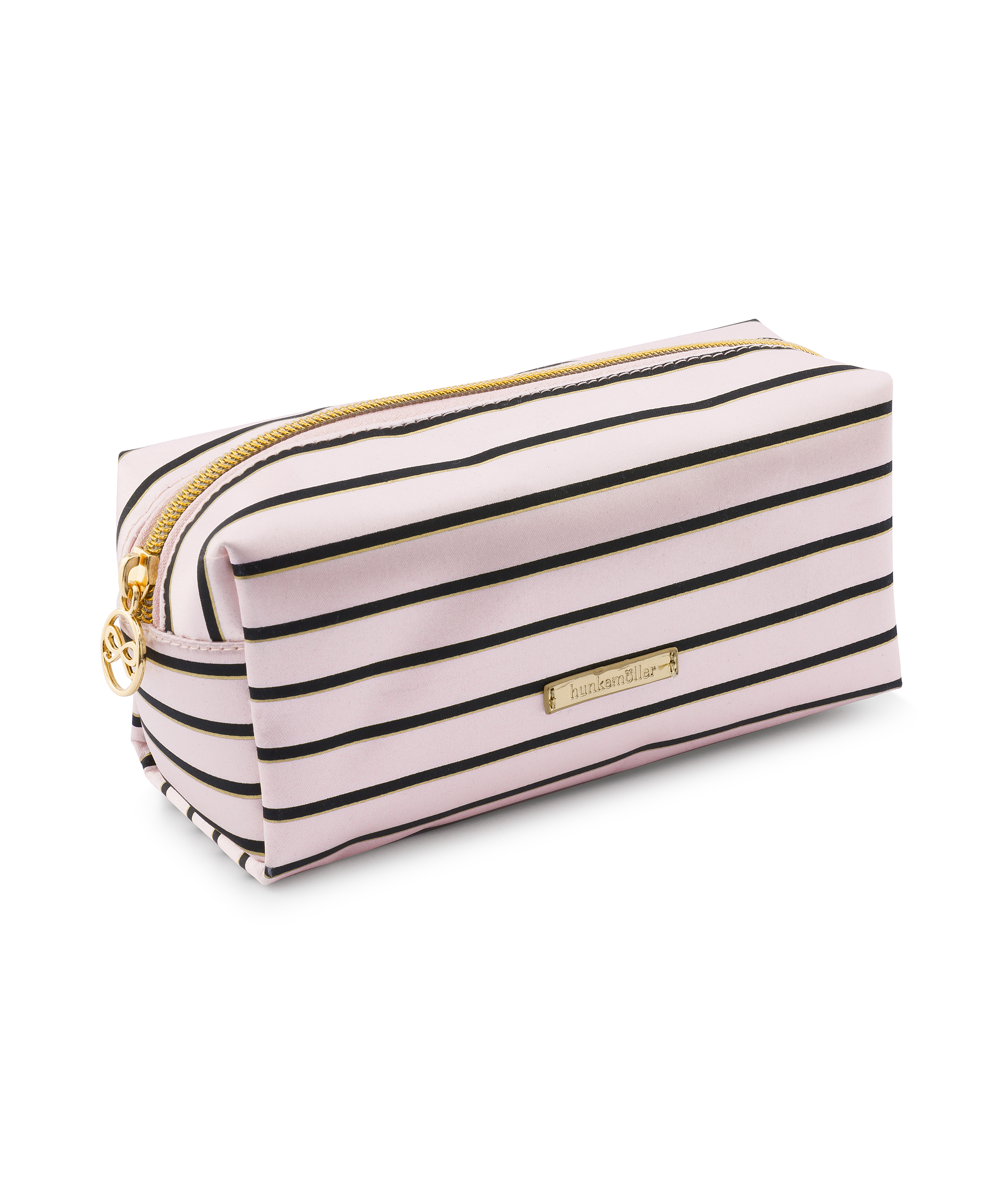Make-up-Tasche Stripe, Rose, main